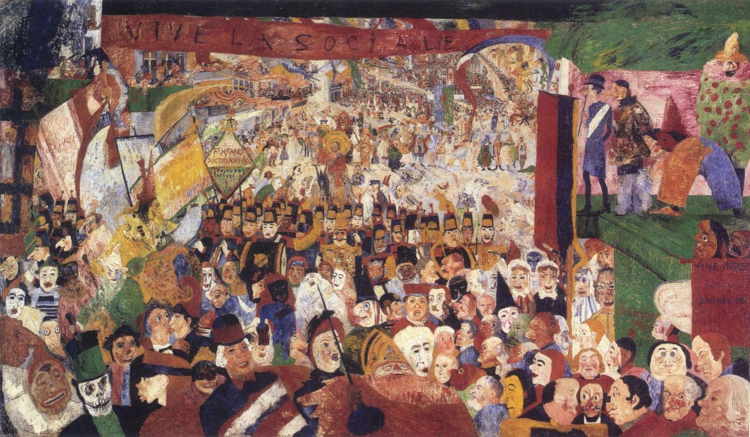 Kristi intåg i Bryssel år 1889