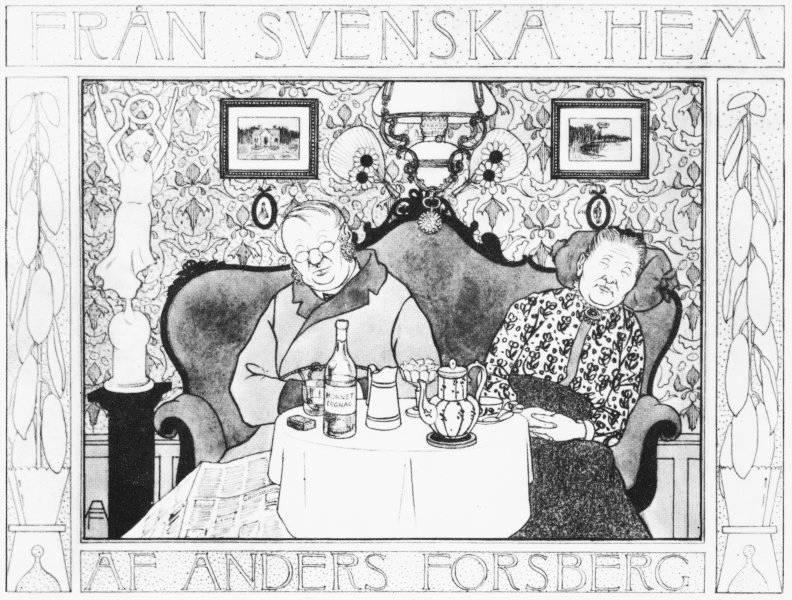 Omslaget till Från svenska hem 1902