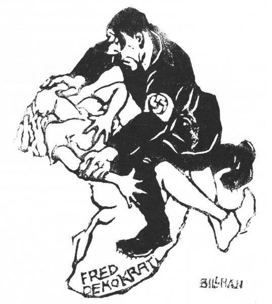 Våldtäkt på demokratin