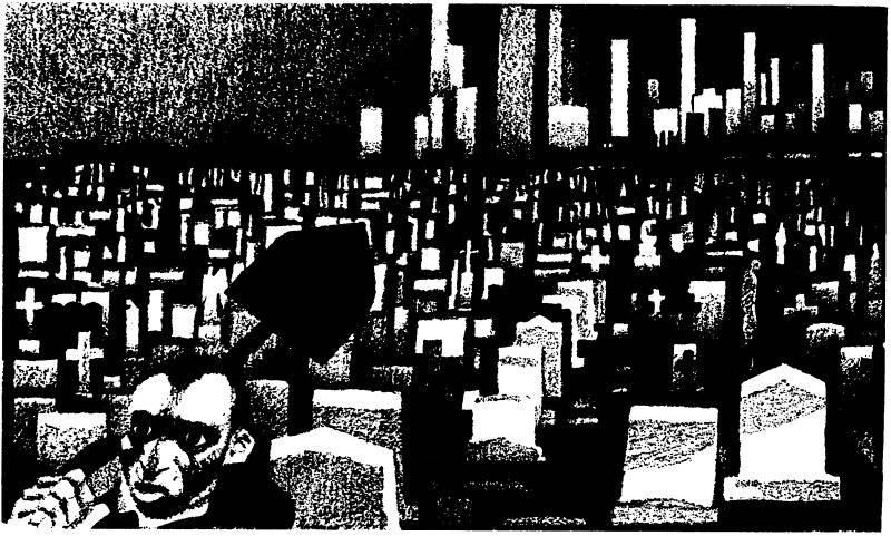 Kyrkogård i New York