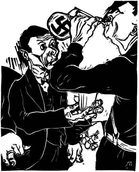 Hitler blåser såpbubblor