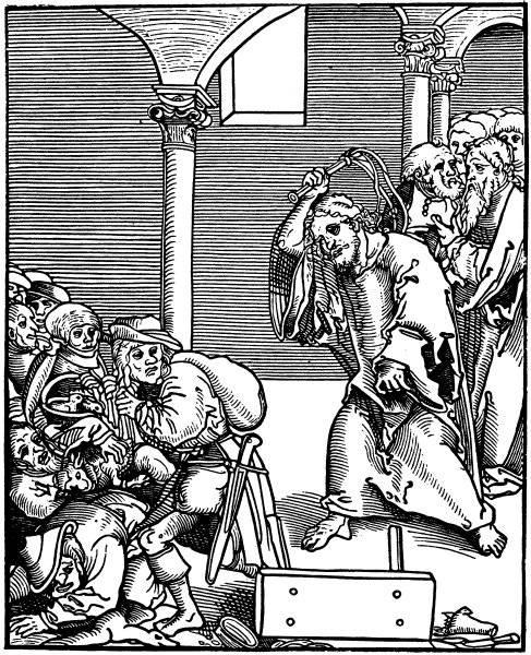 Kristus driver månglare ur templet