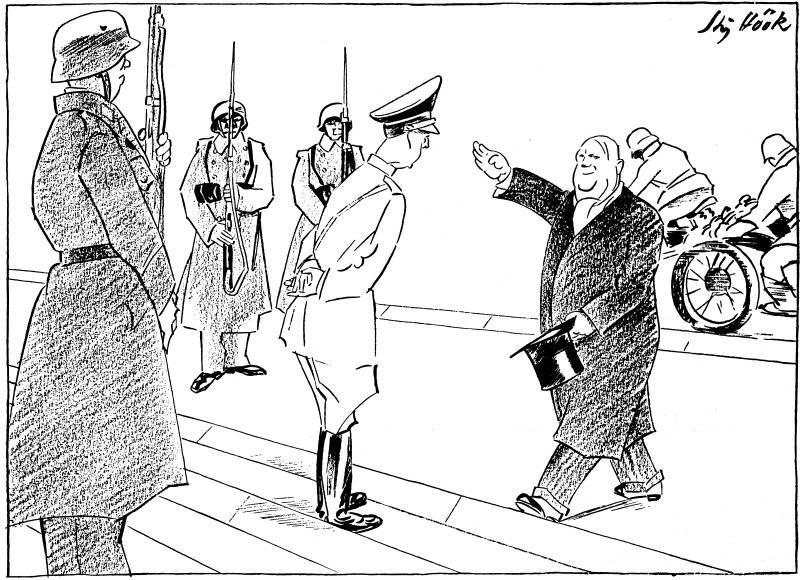 Till audiens hos Hitler