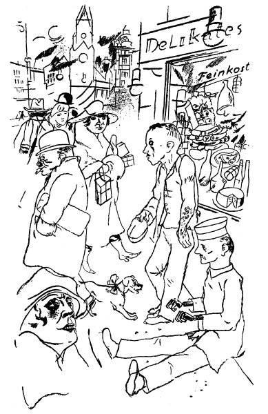 Gatuscen Berlin 1920-22