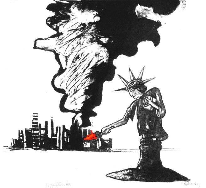 Frihetsgudinnan 11 september