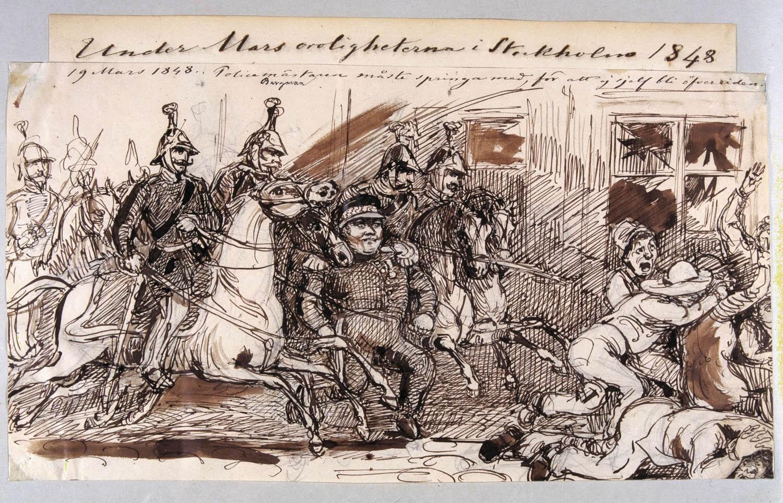Marsoroligheterna 1848