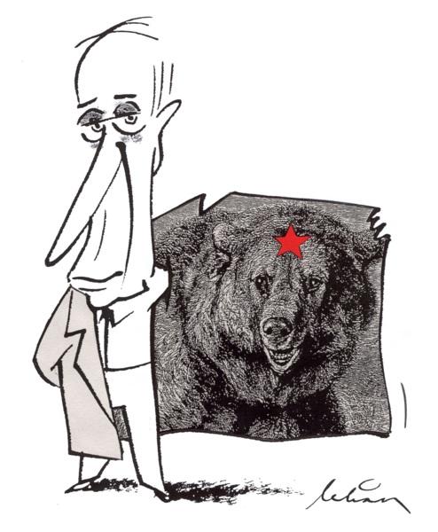I Putins garderob
