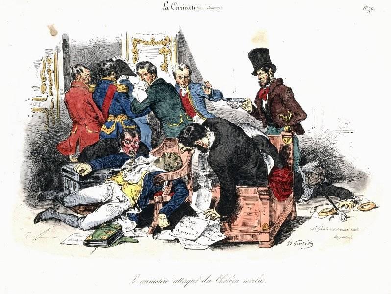 La Caricature nr 40 den 4 aug 1831