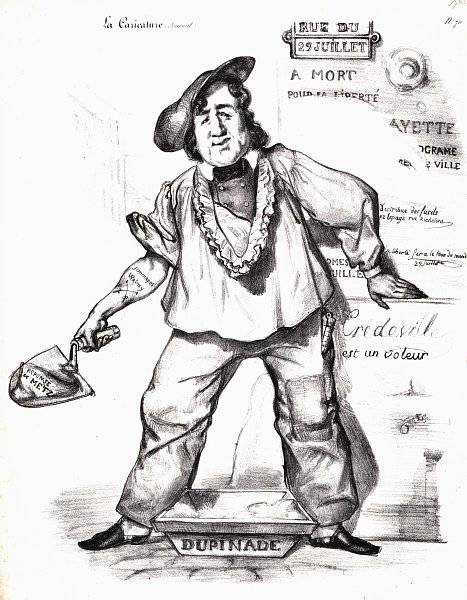 La Caricature nr 35 den 30 juni 1831