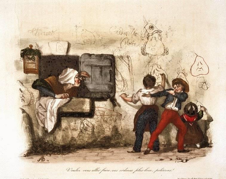 La Caricature nr 115 den 17 januari 1833