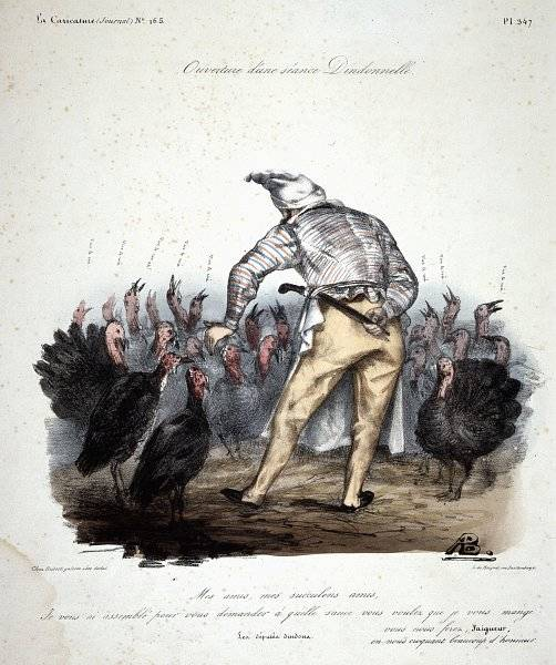La Caricature nr 165 den 2 jan 1833