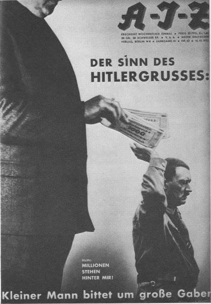 Hitlerhälsningens innebörd