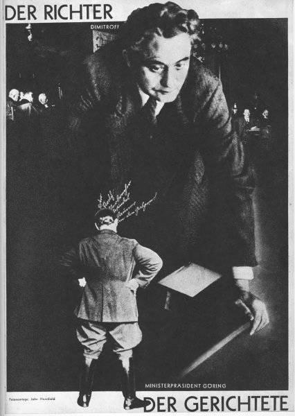 Domaren (Dimitroff) och den dömde (Göring)