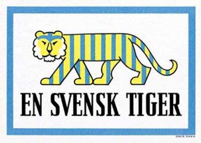 En svensk tiger 1941