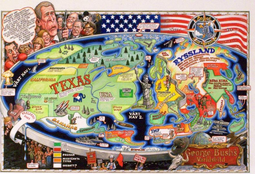 George Bushs världsbild.