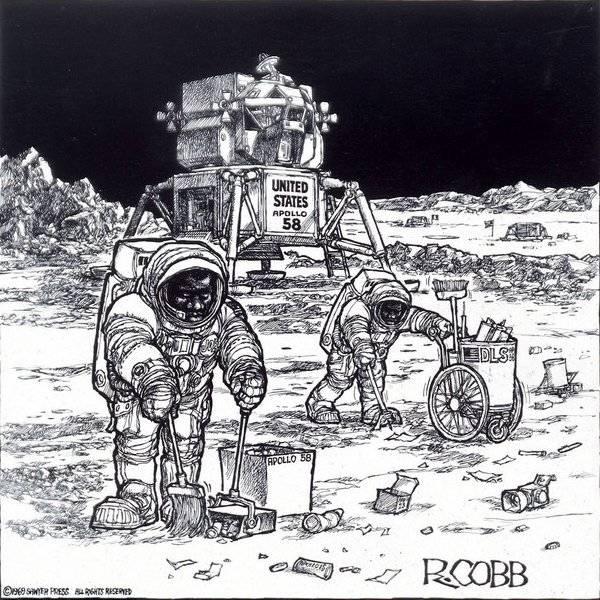 De första svarta astronauterna på månen