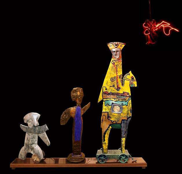 Tre Vilsna Conquistadorer möter Maya