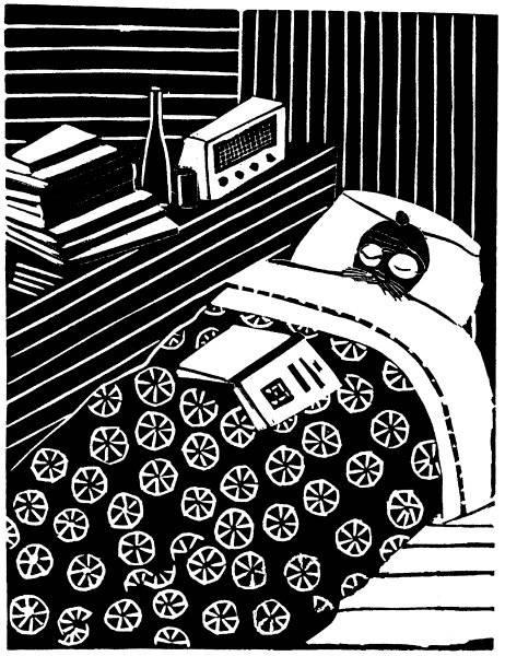 Författaren under arbete
