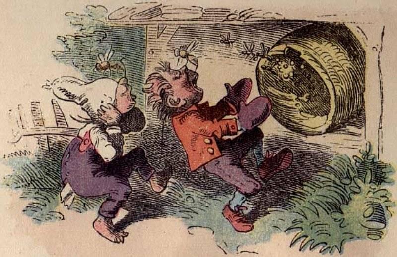 Die kleinen Honigdiebe (1859)
