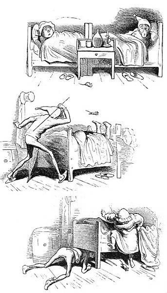 Die Maus oder die gestörte Nachtruhe