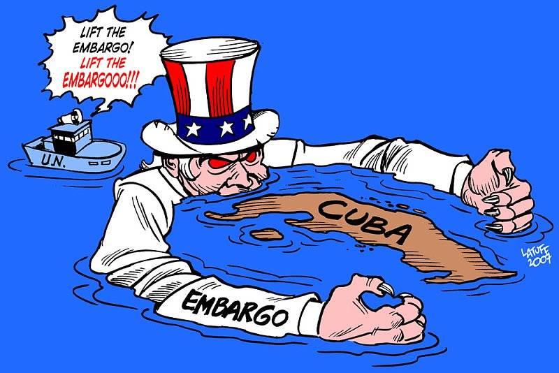 Blockaden mot Kuba