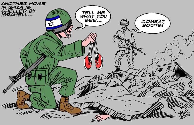 Ännu ett hem i Gaza har bombats