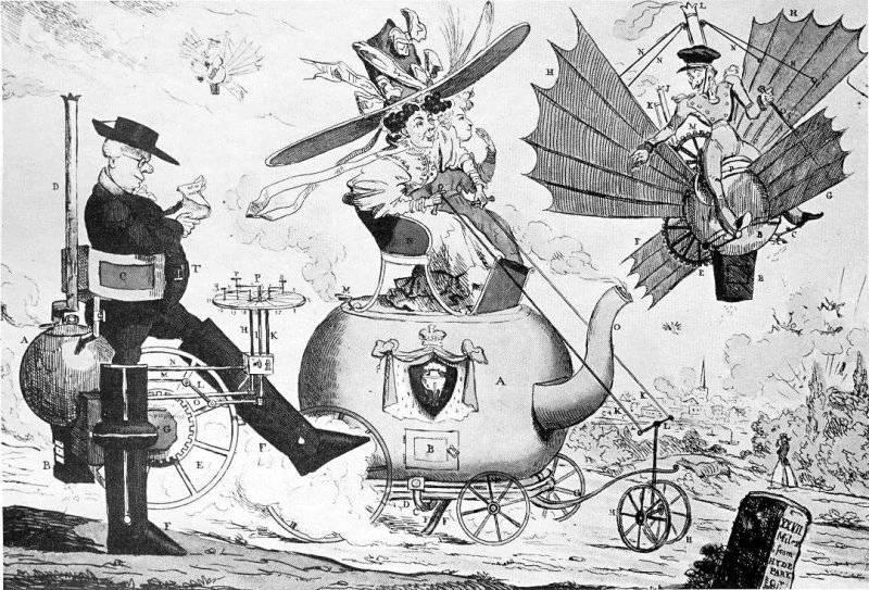 Locomotion, sent 1820-tal