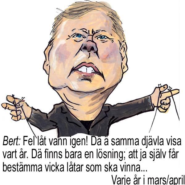 Bert Karlsson vill helst bestämma