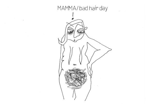 MAMMA/bad hair day