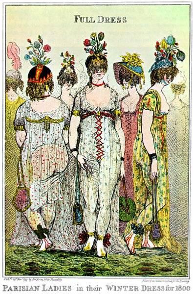 Modet i Paris år 1800