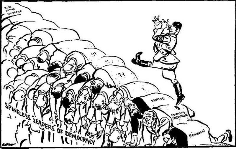 Ryggradslösa demokratiska ledare