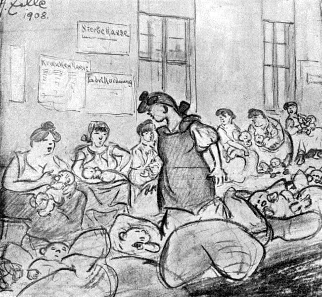 Stillstube für Fabrikarbeiterinnen
