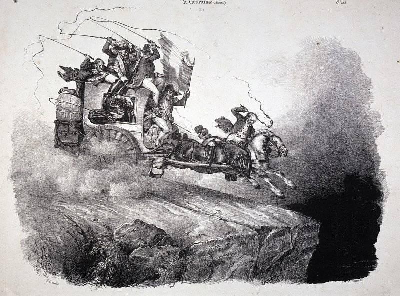 La Caricature nr 51 den 20 oktober 1831
