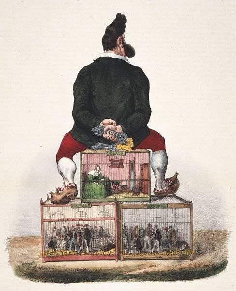 La Caricature nr 129 den 25 april 1833