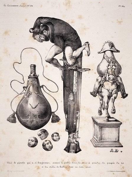 La Caricature nr 130 den 2 maj 1833