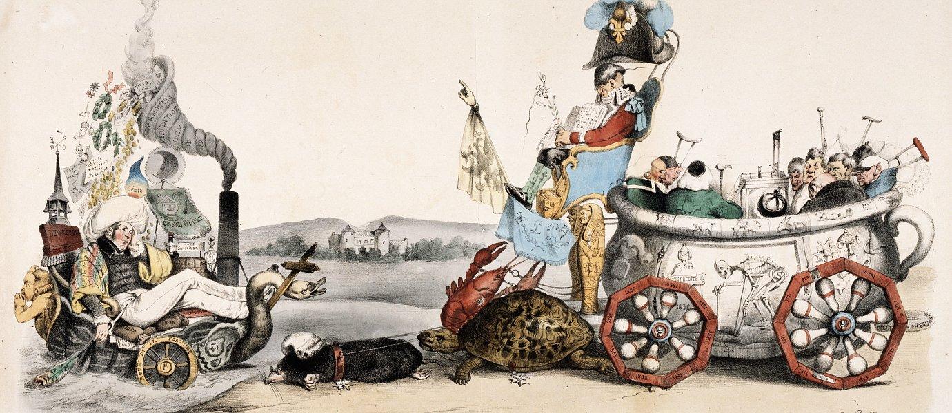 La Caricature nr 192 den 10 juli 1834