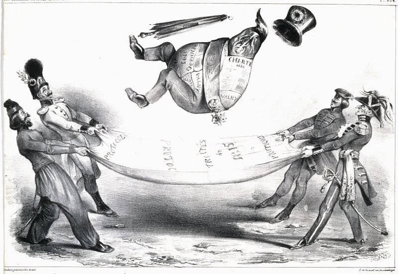 La Caricature nr 168 den 23 jan 1834