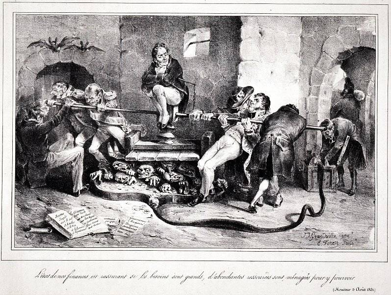 La Caricature nr 46 den 15 sep 1831