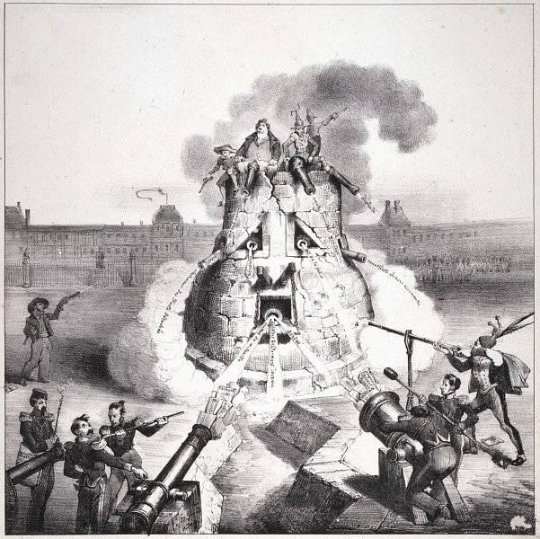 La Caricature nr 138 den 27 juni 1833