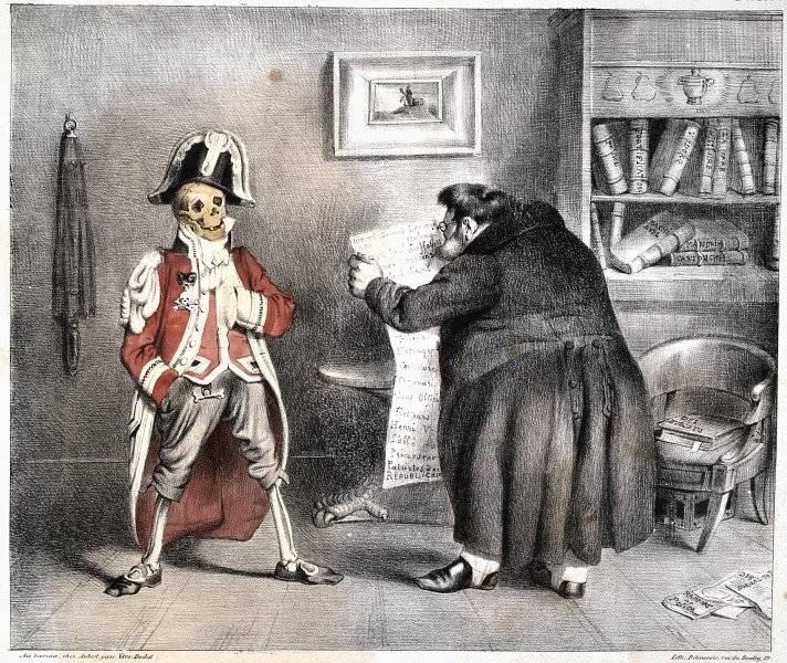 La Caricature nr 191 den 3 juli 1834