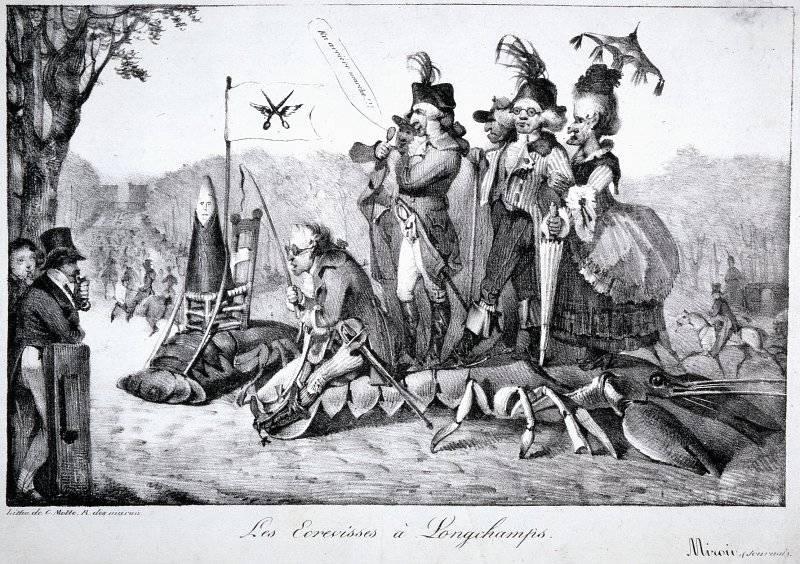 Les Écrevisses à Longchamps
