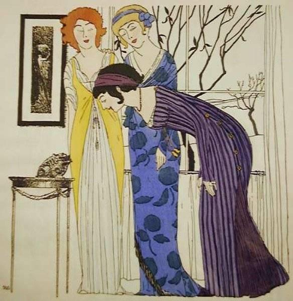 Mode av Paul Poiret (1879-1944)