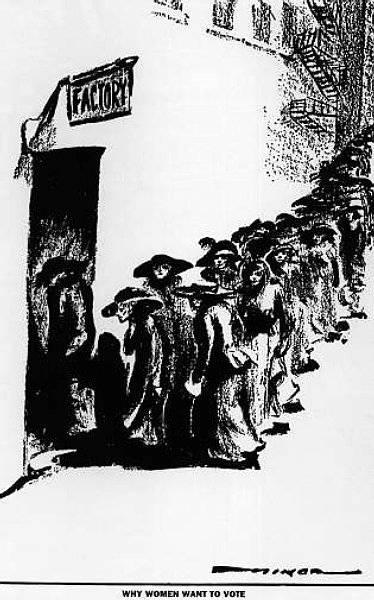 Varför kvinnor vill ha rösträtt