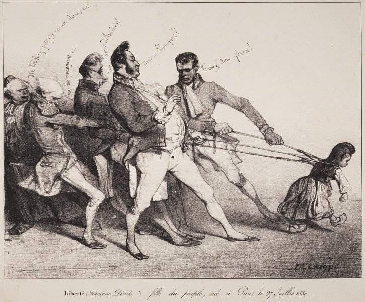 Friheten – Francoise Désirée – dotter av folket