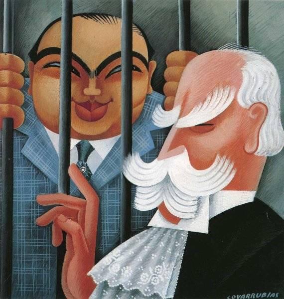 Al Capone & Chief Justice Charles Evans Hughes