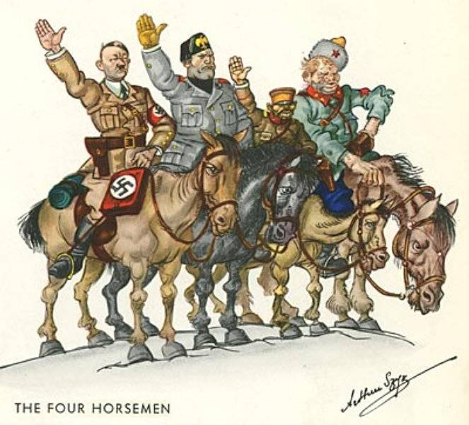 De fyra ryttarna