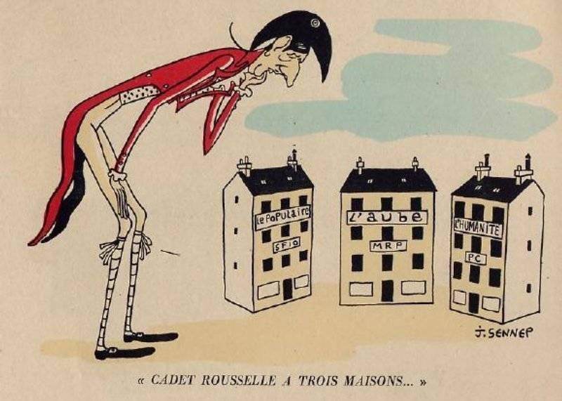 Cadet Rousselle har tre hus