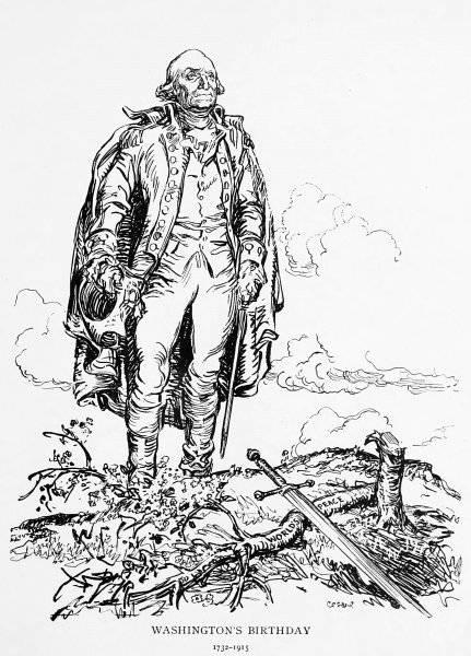 Washingtons födelsedag 1732-1915