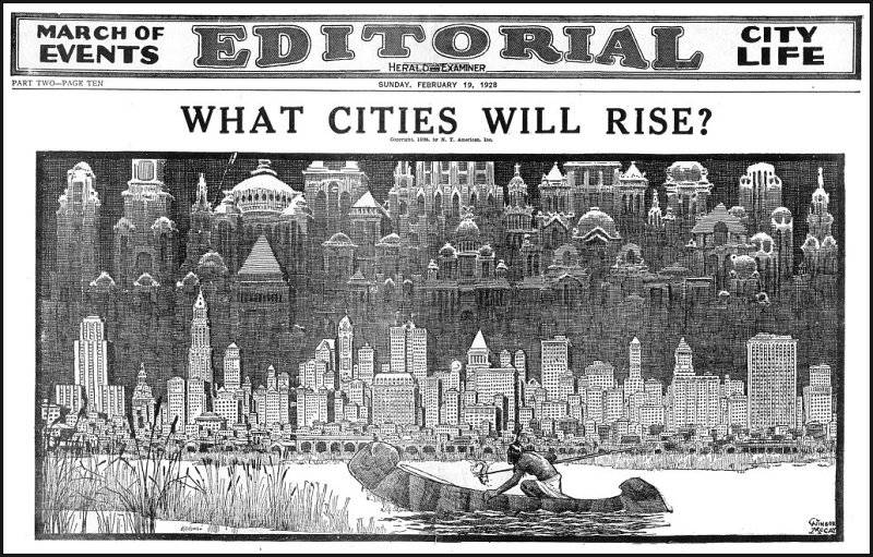Vilka städer kommer att växa upp?