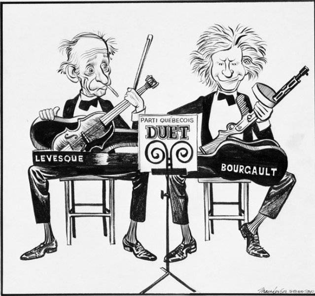Quebecpartiernas duett